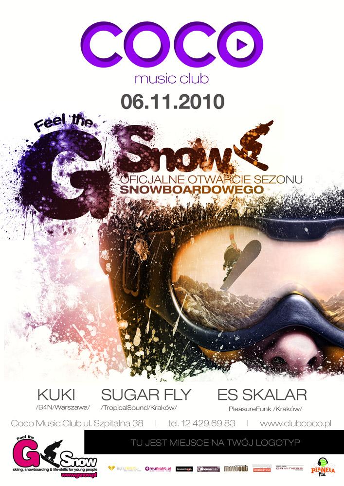 Otwarcie sezonu snowboardowego w Krakowie