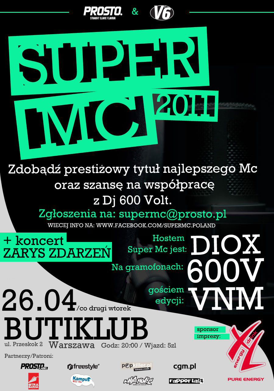 Super MC Plakat