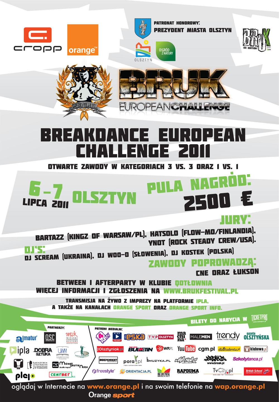 Breakdance European Challenge 2011