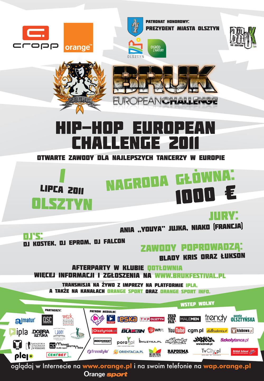 Hip-Hop European Challenge 2011