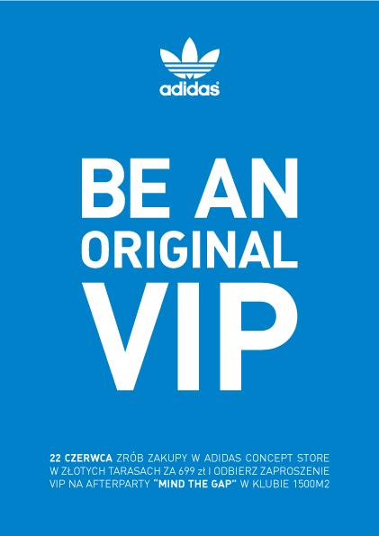 adidas BE AN ORIGINAL VIP