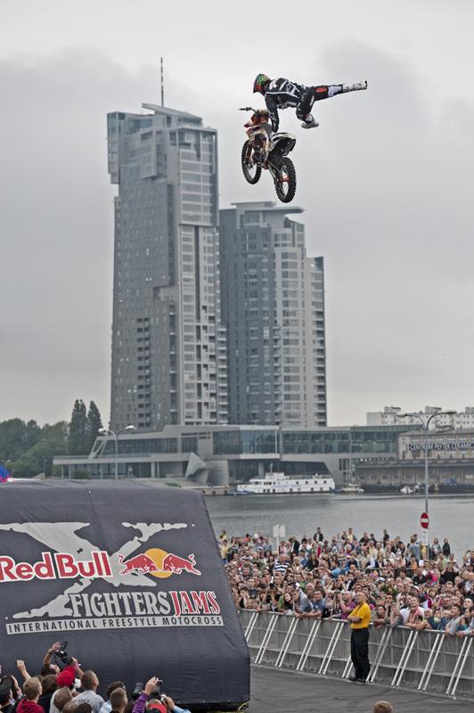 Gdynia, skoki FMX