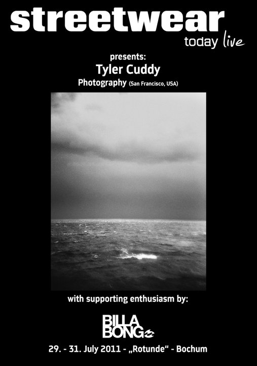 "świetna wystawa Tyler'a Cuddy "" Billabong - art exhibition"""