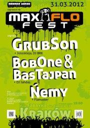 GrubSon, Bob One+Bas Tajpan, Ńemy - MaxFloFest w Krakowie
