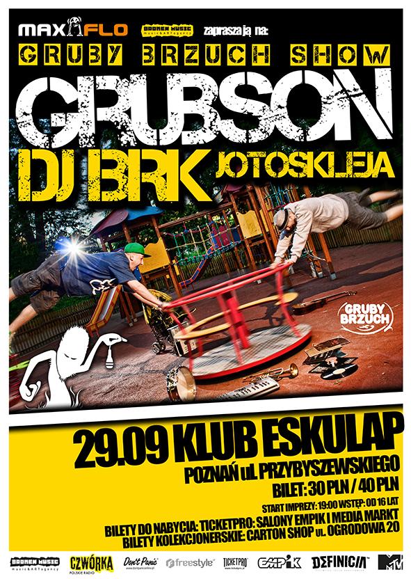 Koncert Grubsona i BRK w Poznaniu