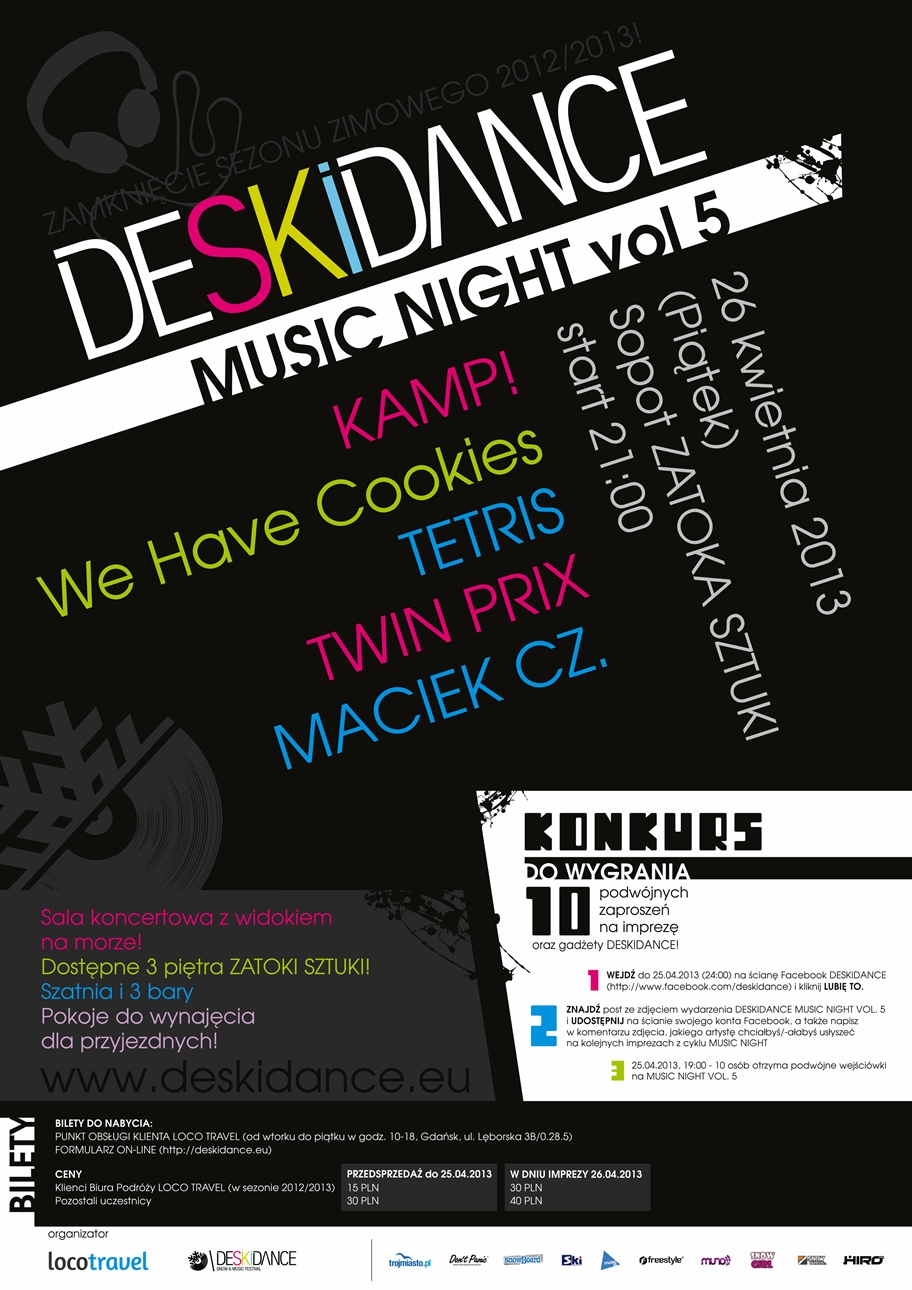 DESKIDANCE MUSIC NIGHT vol.5