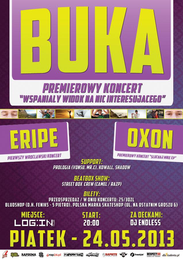 Koncert: Buka Eripe, Oxon