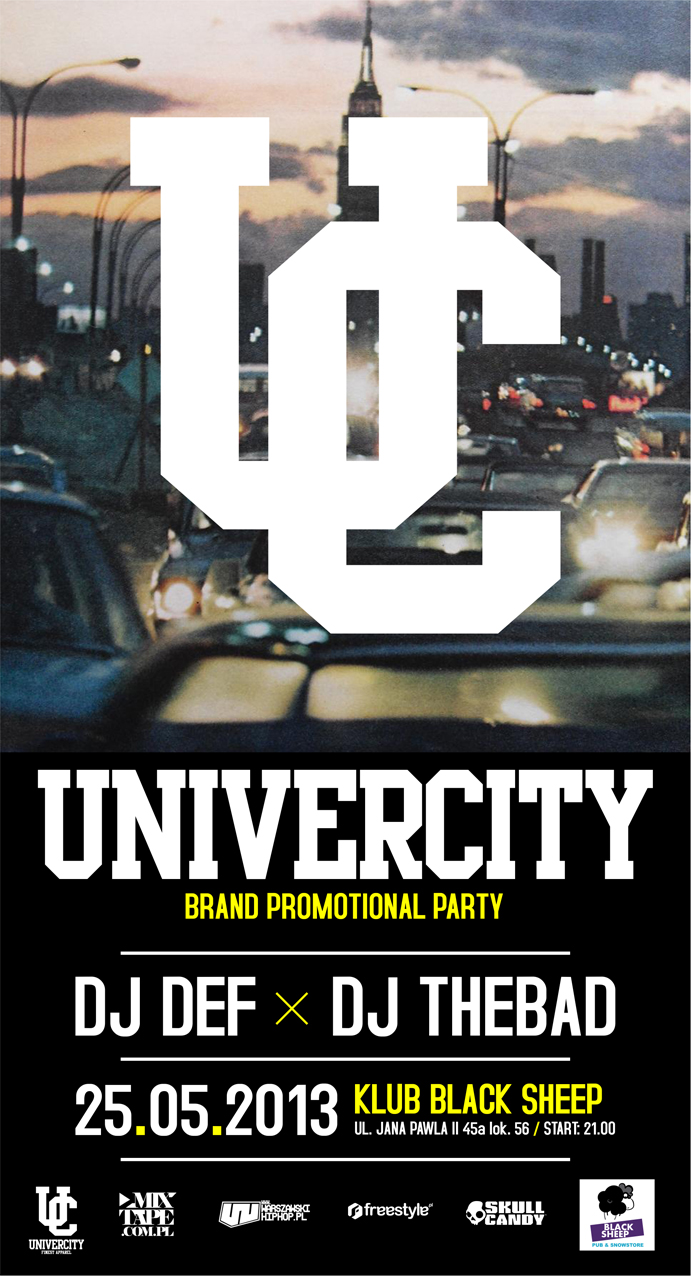 Univercity Brand Promotional Party