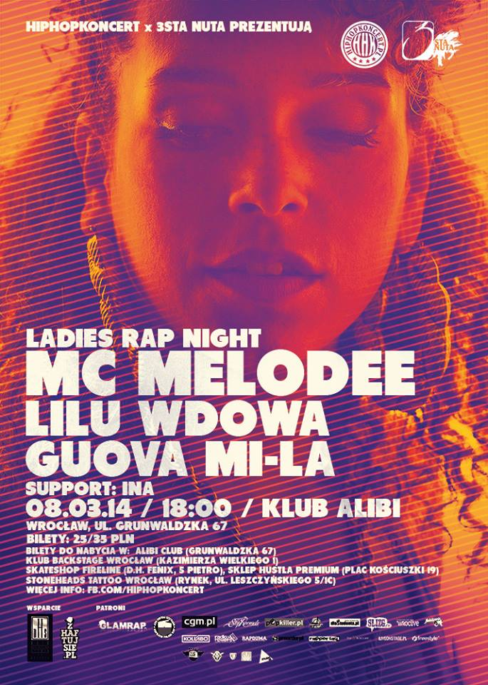 Ladies Rap Night w Dzień Kobiet