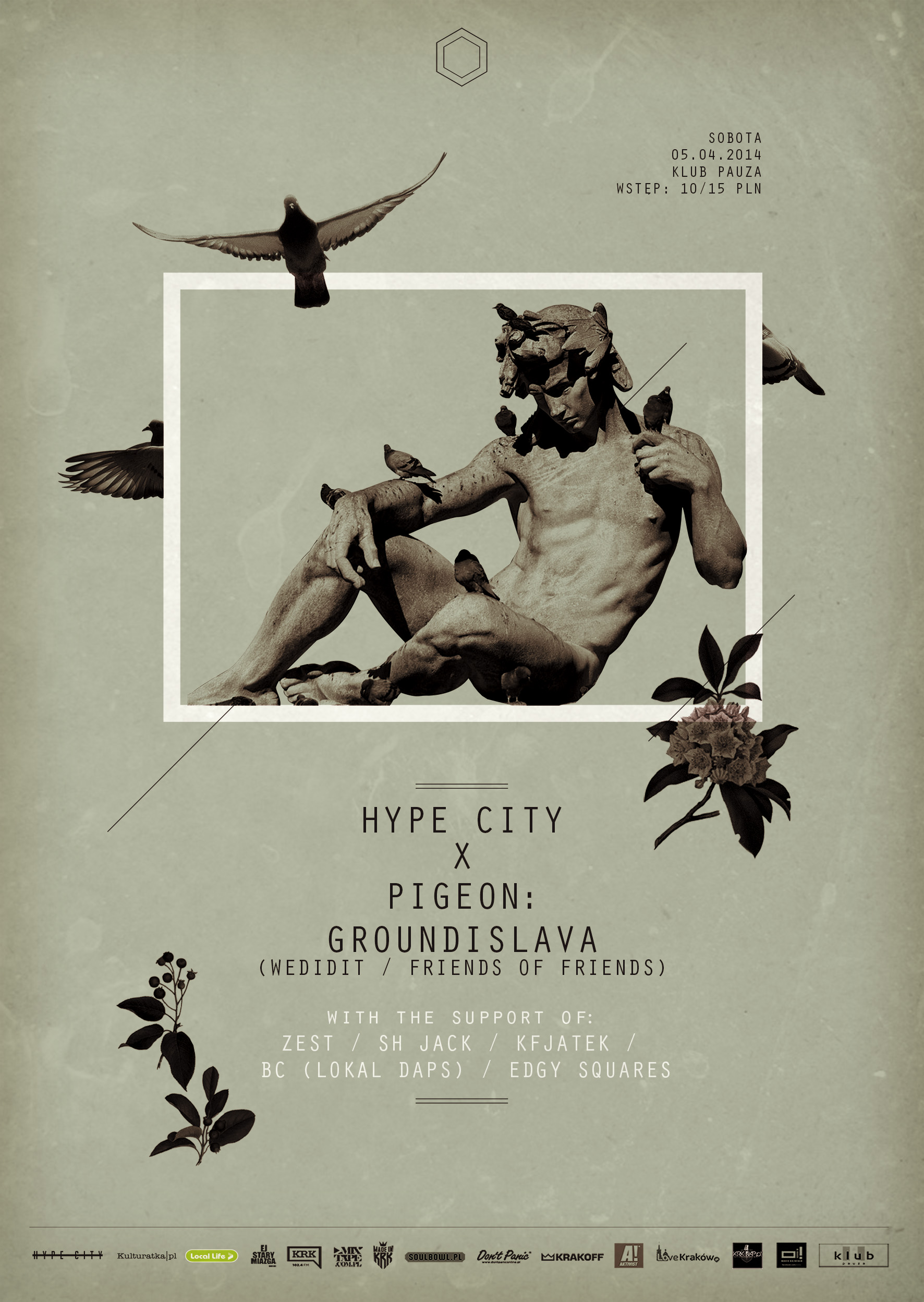 HYPE CITY x PIGEON: GROUNDISLAVA (LOS ANGELES / WEDIDIT / Friends Of Friends)