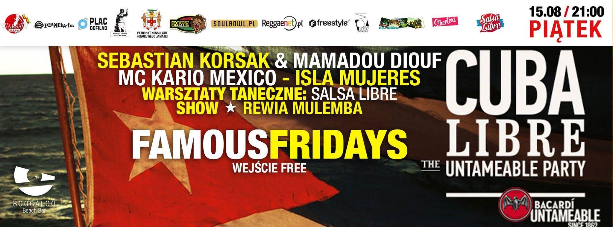 SEBASTIAN KORSAK & MAMADOU DIOUF & MC KARIO MEXICO (ISLA MUJERES)