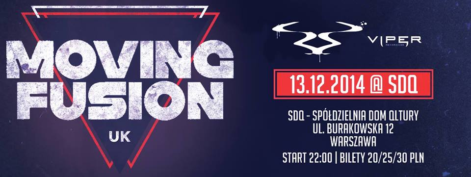 Back 2 The Old School / Back 2 The Roots Present's: Moving Fusion / UK