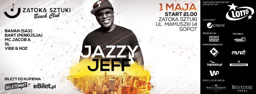Dj Jazzy Jeff pierwszego maja zagra w Sopocie