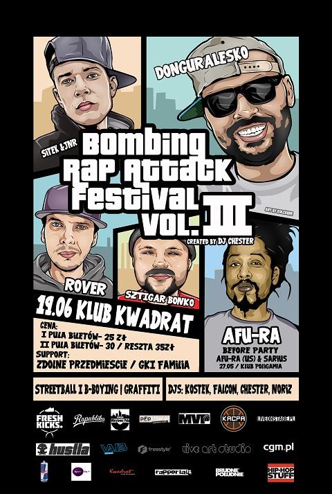 Bombing Rap Attack Festival 2015