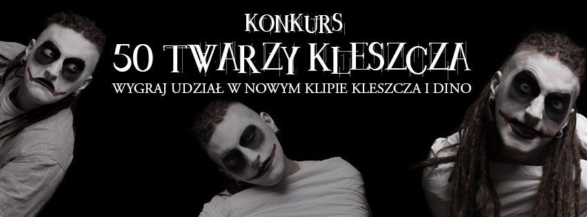 """Konkurs """"50 twarzy Kleszcza"""""""