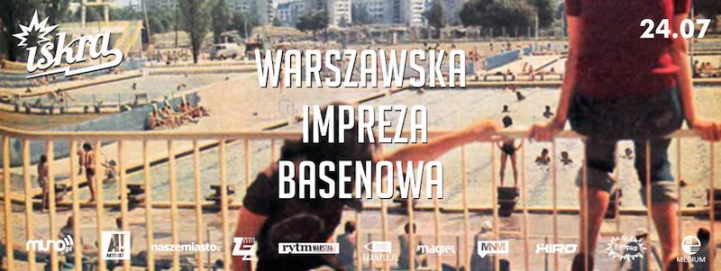 Warszawska impreza basenowa