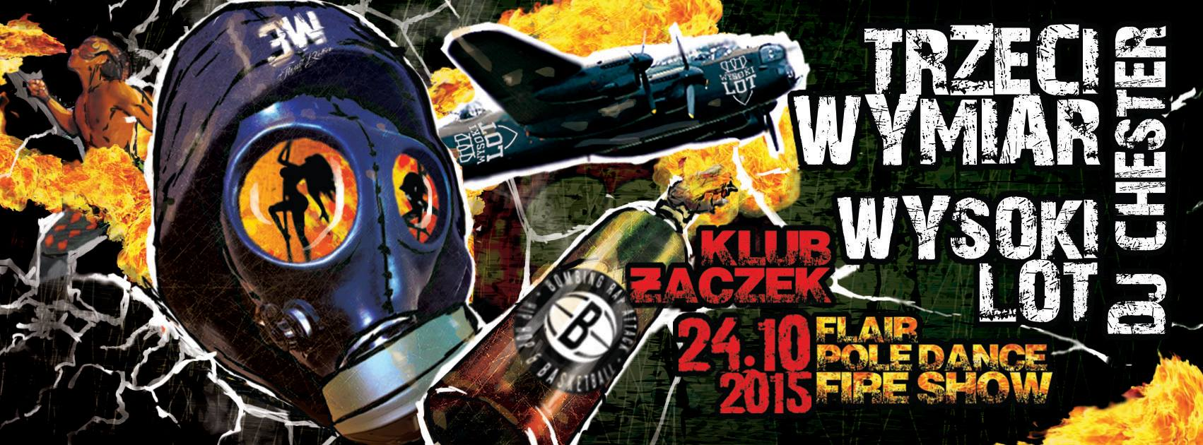 Trzeci Wymiar (OSŚ) & Wysokilot x Fidser + Pole Dance, Fireshow & Flair w Krakowie