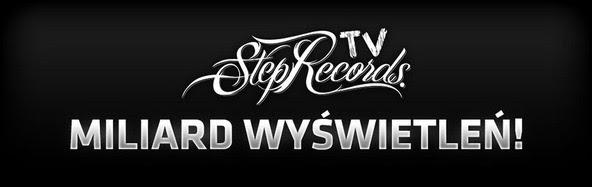 Step Records pierwszym polskim kanałem na YouTube z miliardem wyświetleń