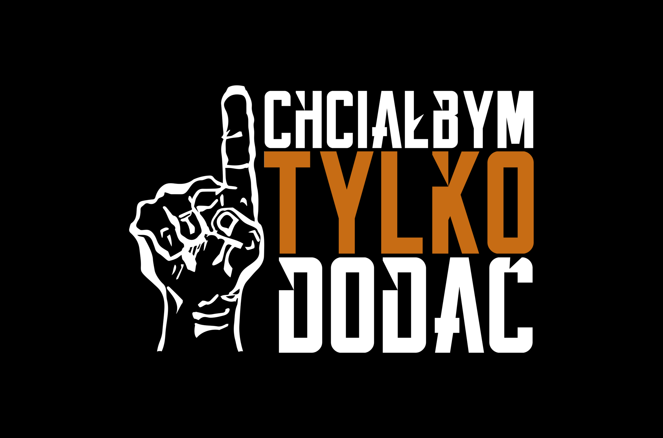 Logo programu CHCIAŁBYM TYLKO DODAĆ