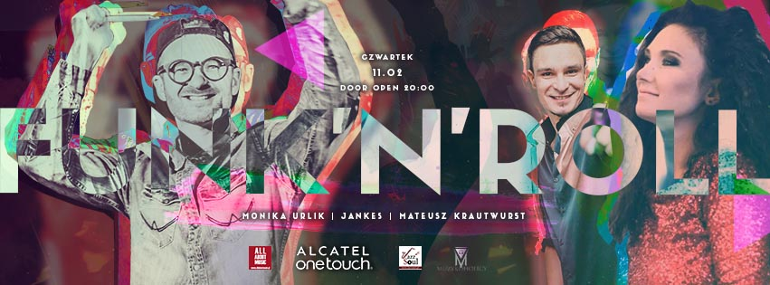 Funk'n'Roll by Monika Urlik   Krzysztof Jankowski JANKES   Mateusz Krautwurst & Dj Finger