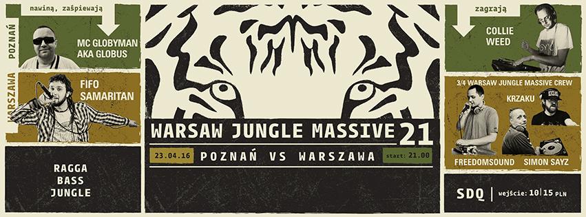 Warsaw Jungle Massive 21 - Warszawa vs Poznań