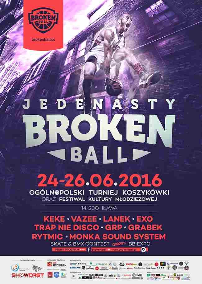 BROKEN BALL 11, Iława 2016