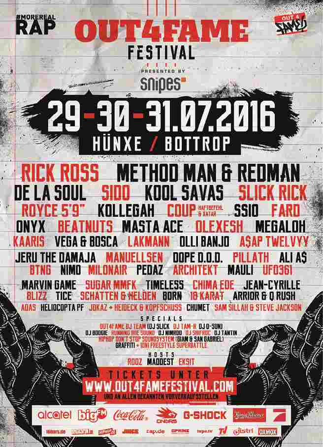Out4Fame Festival 2016