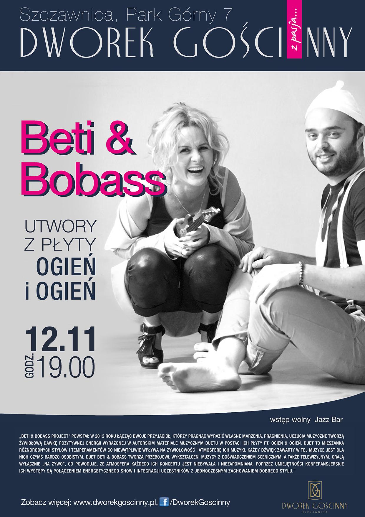 Koncert Beti&Bobass