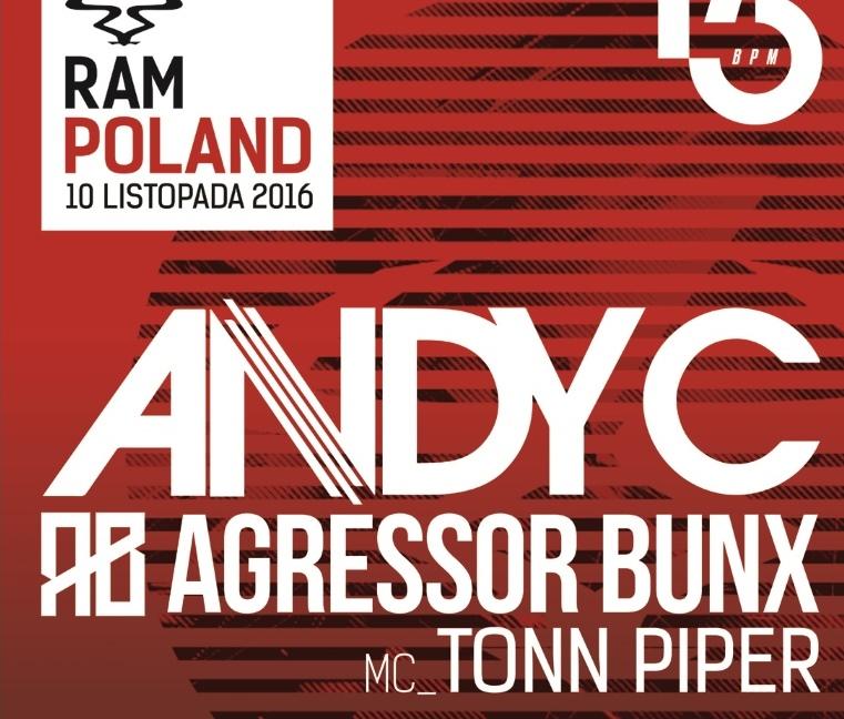 RAM Night Poland w Łodzi