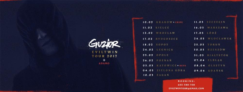 Guzior wyrusza w trasę koncertową: odwiedzi ponad 20 miast