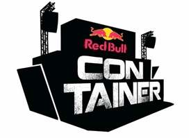 Red Bull Container