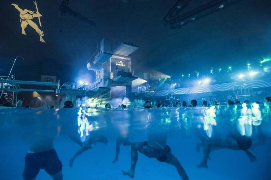 DJ Stingray podczas występu na Red Bull Music Adacemy w Montrealu