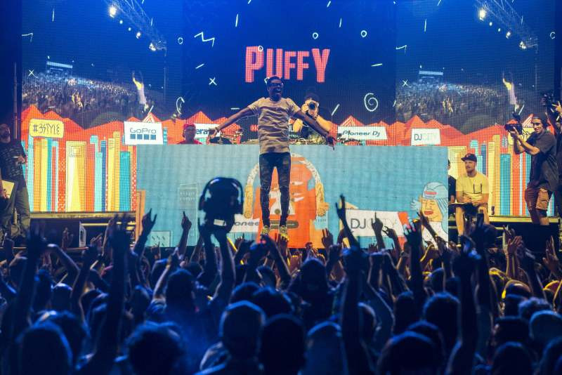 Dj Puffy @ Red Bull3Style Santiago