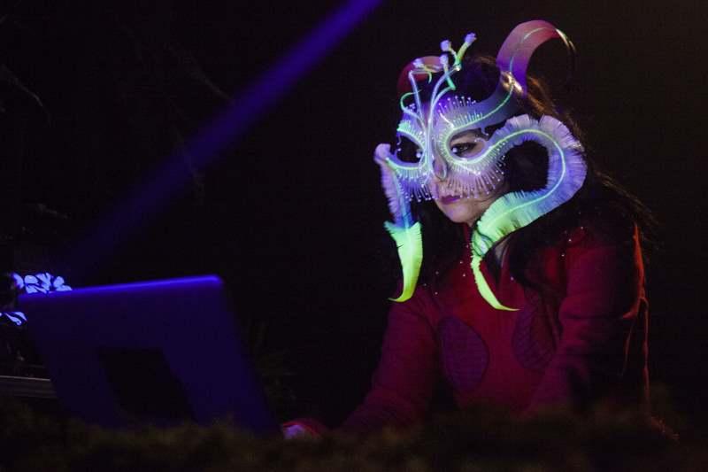 Bjork DJset, Red Bull Music Academy