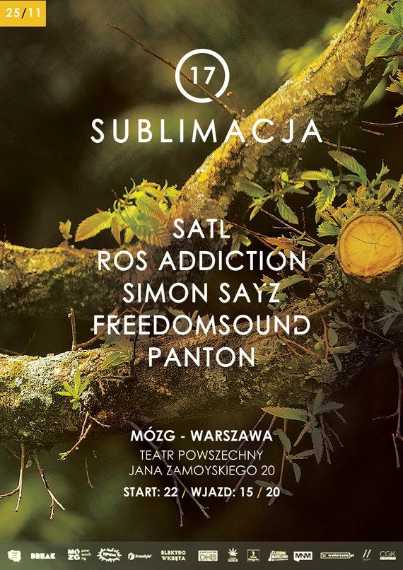 Sublimacja #17 SATL Mózg Warszawa