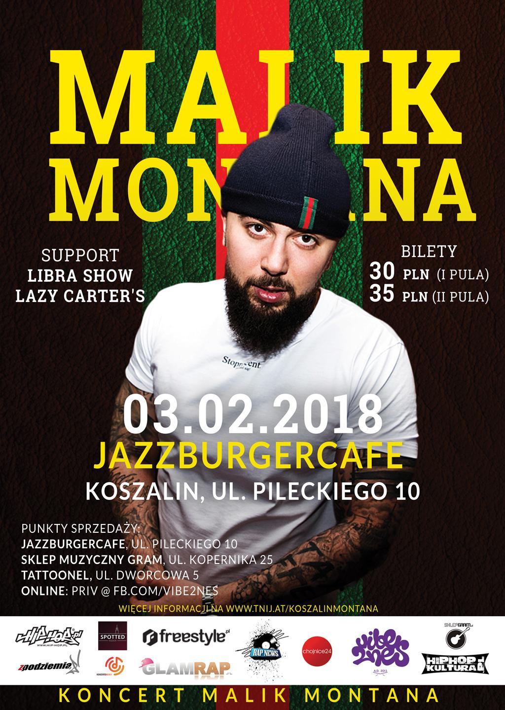 Koncert Malika Montana w Koszalinie