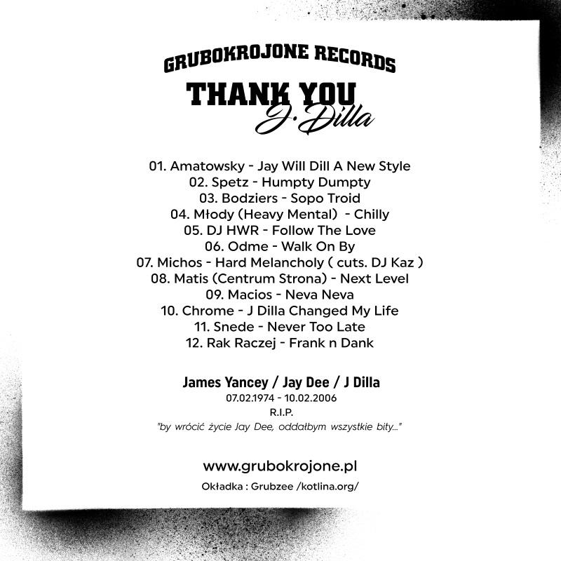 Grubo Krojone - Thank You J Dilla