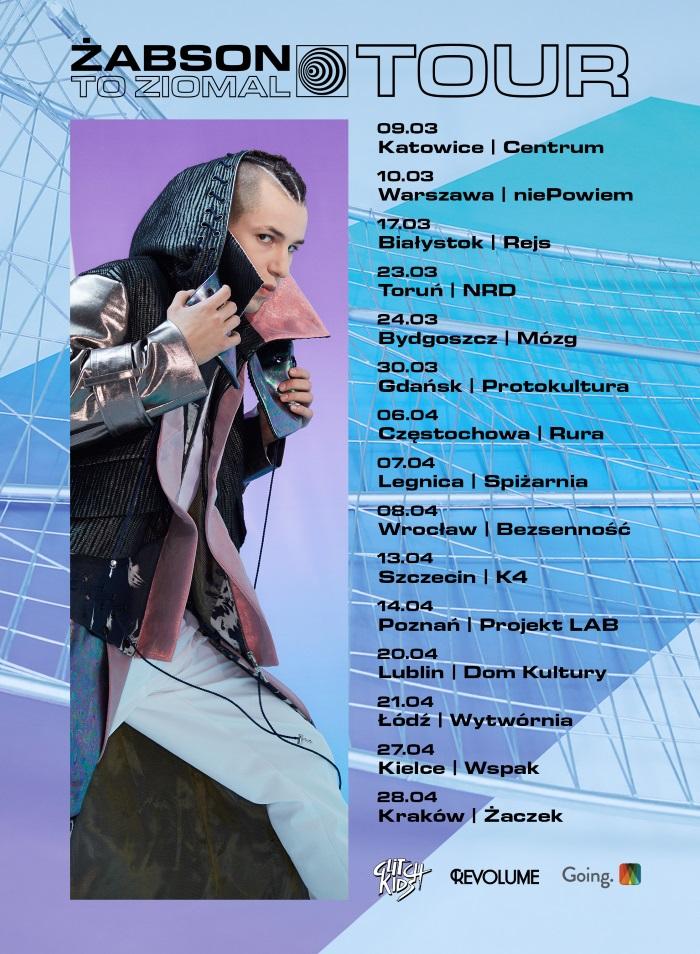 """Żabson """"DMT"""" - nowy klip, premiera albumu """"To ziomal"""" i ogłoszenie trasy koncertowej"""