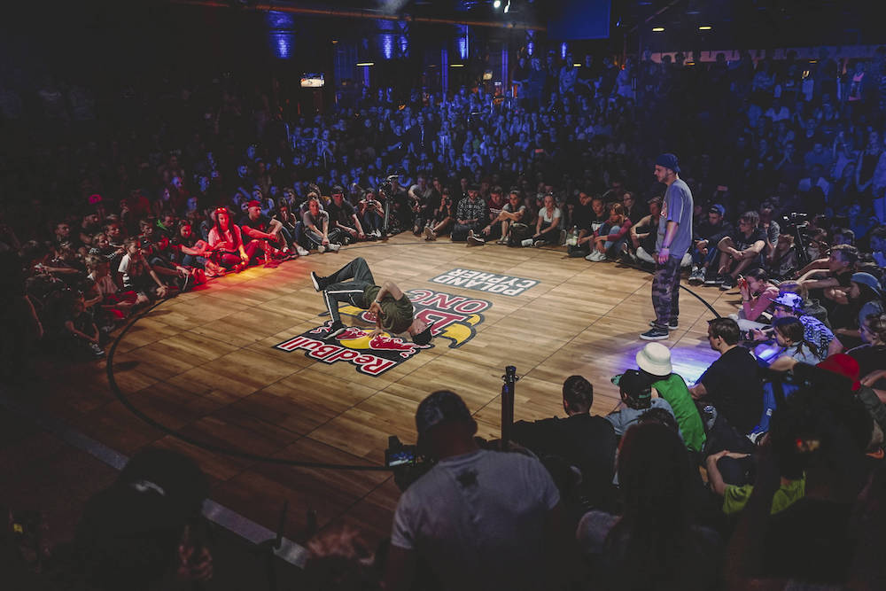 B-Boy Beeski na Red Bull BC One Cypher Poland 2017