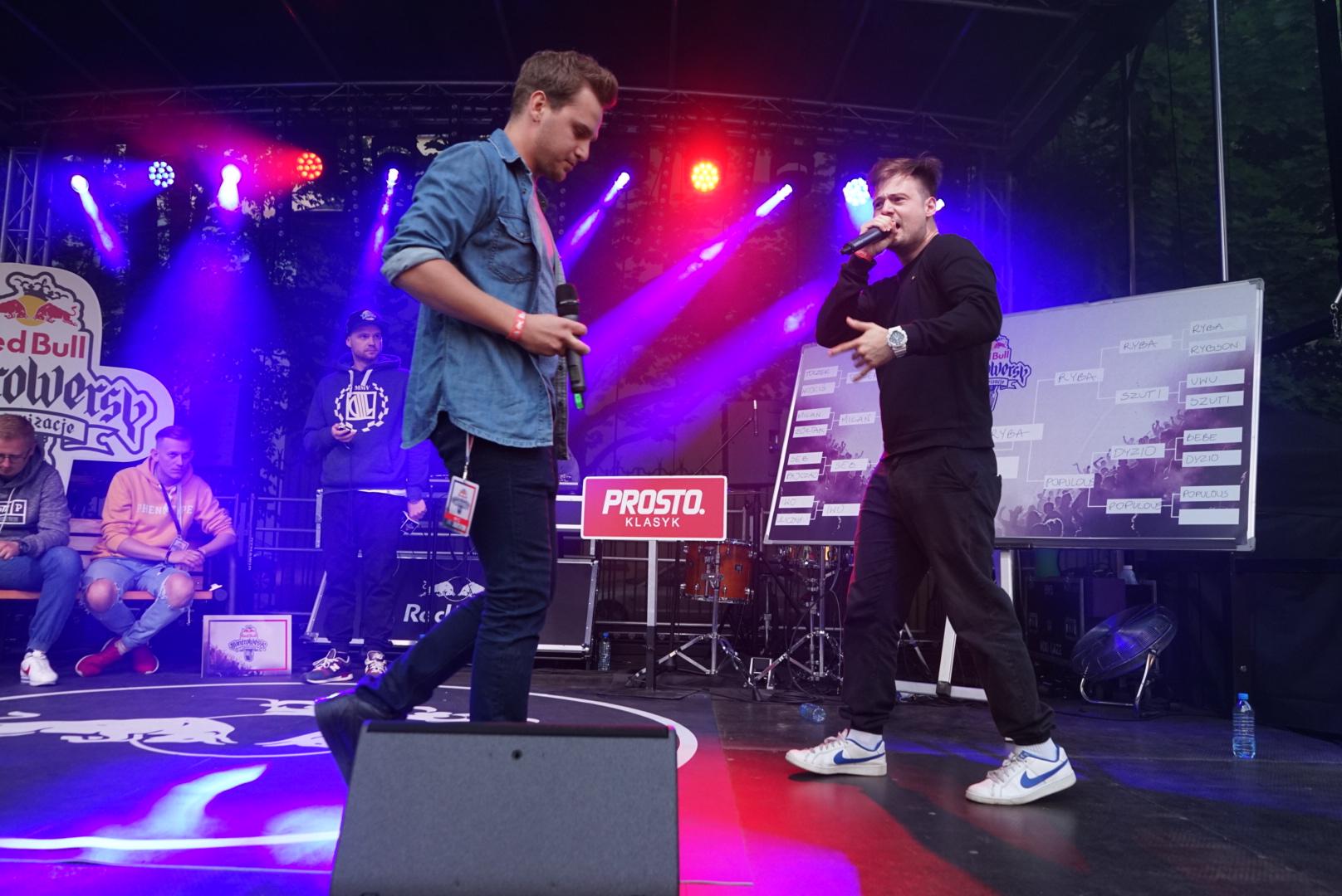 Red Bull Kontrowersy - Warszawa, Ryba vs Toczek
