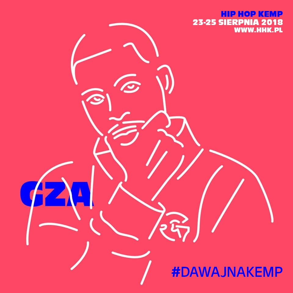 GZA zagra na tegorocznym Hip Hop Kemp