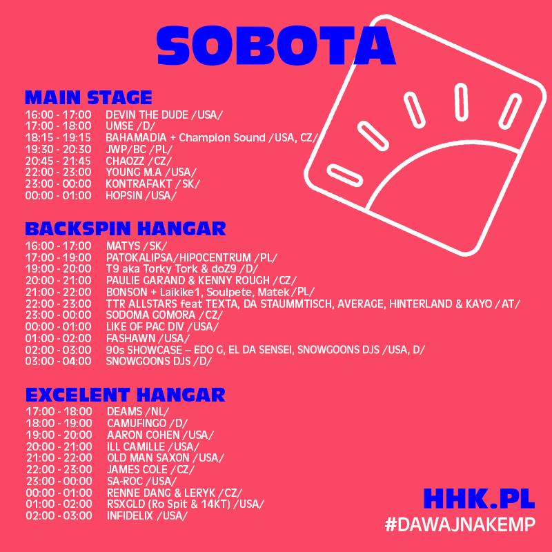 HHK 2018 - sobota