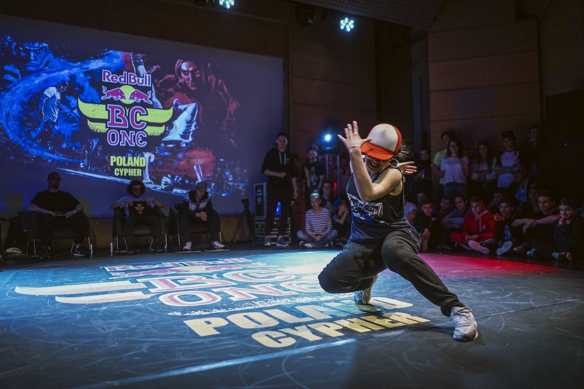 B-Girl Paulina na Red Bull BC One Poland Cypher 2016