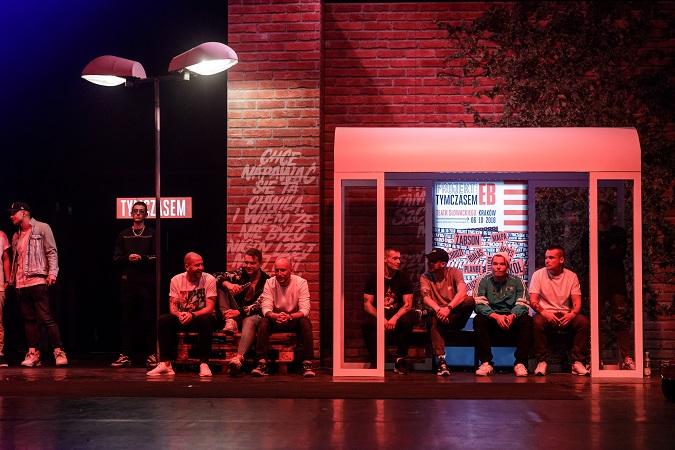 Czołowi raperzy wystąpili w hip-hopowym spektaklu