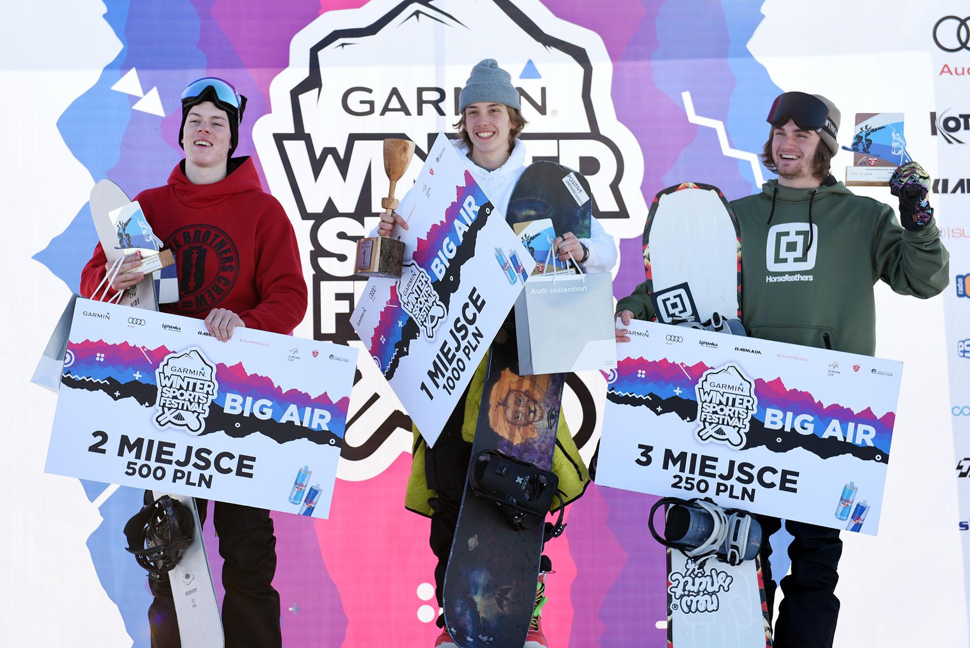 Podium PE FIS Snowboard Men