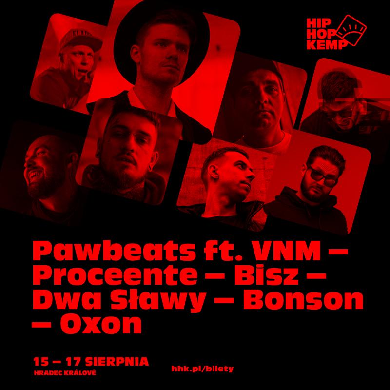 Pharoahe Monch i Pawbeats z czołówką polskich MC's zagrają na Kempie