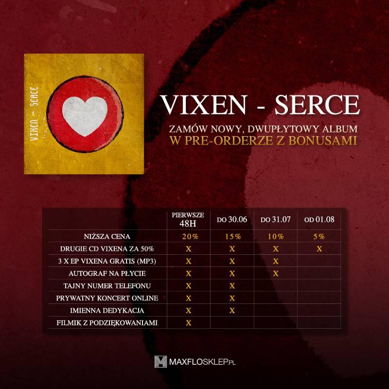 Vixen Serce - bonusy