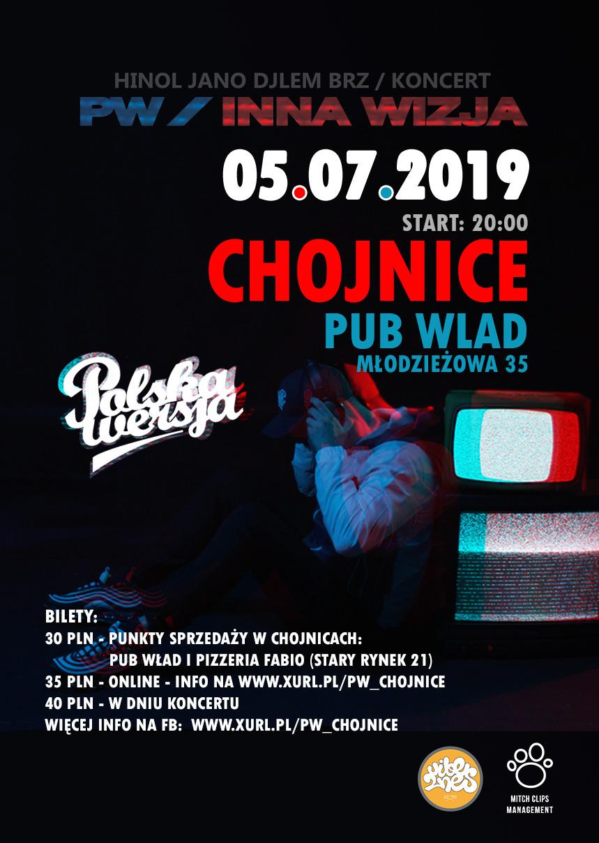 Koncert duetu Polska Wersja (Jano i Hinol) w Chojnicach