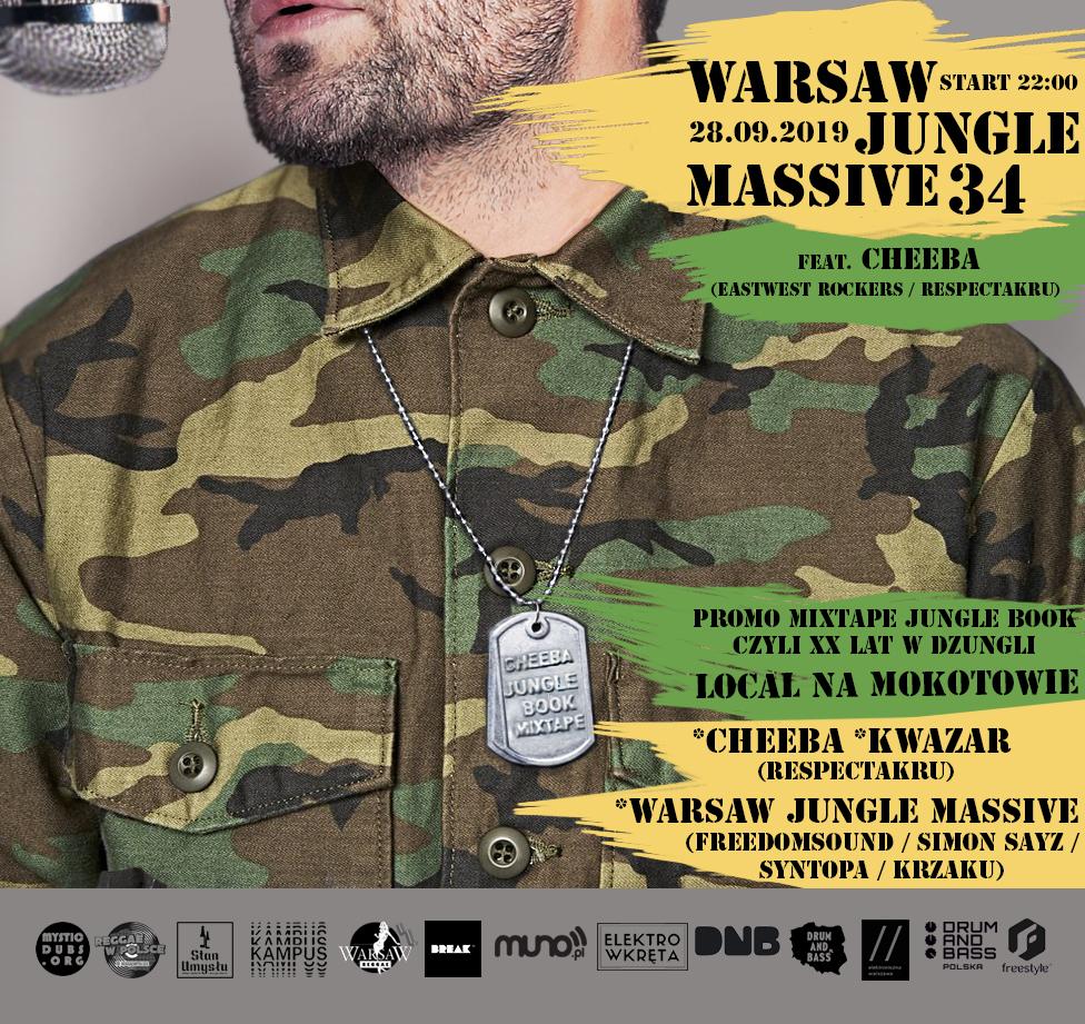 Warsaw Jungle Massive #34 - Local Na Mokotowie