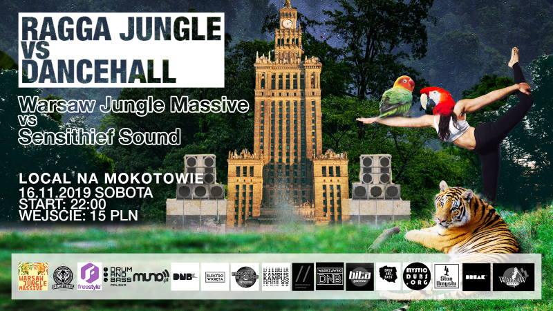 Warsaw Jungle Massive vs Sensithief Local Na Mokotowie
